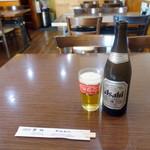 華林 - 瓶ビール580円