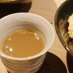 鳥かど - 鶏スープ