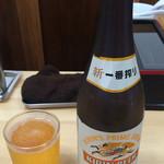 中華そば こてつ - 瓶ビール
