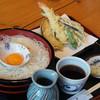 つるりん房 - 料理写真:天ぷら氷たらいそうめん