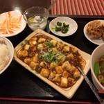 中華料理 日升 - 麻婆豆腐定食