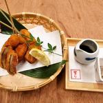 菜な - 9月のおすすめ料理【和歌山】無花果の串揚げ