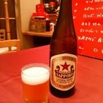 中華 うずまき - サッポロラガービール