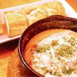 富士屋本店 ダイニングバー - マッシュルームのブルーチーズ焼き