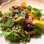 和食・酒 えん - 【明石】蛸のチョップドサラダ