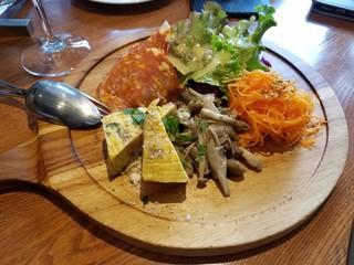 オステリア カステリーナ - 前菜の盛り合わせ(二人前)