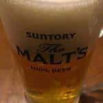 和食居酒屋 旬門 - ビール