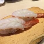 沼津 魚がし鮨 流れ鮨 - 2017年8月 海老