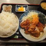 彩 - 鶏の唐揚げ定食