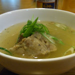 肉処 燎 - テールスープ