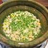日本料理 潤花 - 料理写真:毛ガニと玉蜀黍ご飯土鍋