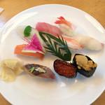 寿司処 わさび - 料理写真:おまかせ握り