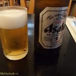 いちりきや - 瓶ビール中瓶。(2017/8/6)