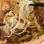 虎と龍 - 細麺