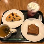 スターバックス・コーヒー - 料理写真:今回食べたやーつ
