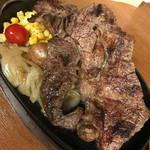 ステーキ屋 暖手 - 1ポンドステーキ(450g) 2780円