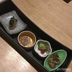 瀧口 - 前菜盛り合わせ