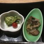 瀧口 - バジルチキン&キノコのマリネ