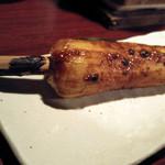 72486768 - きりたんぽ味噌焼き