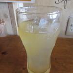 日光軒 - クーポンのりんごジュース