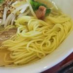 うめ屋 - スープも麺も・・・美味しかった。