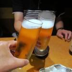個室居酒屋 東京燻製劇場 - カンパ~イ♪