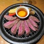 個室居酒屋 東京燻製劇場 - 牛と出汁卵の瞬間燻製¥1280