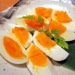 個室居酒屋 東京燻製劇場 - 燻製の半熟卵¥480