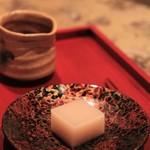 料理 澤 - 白小豆のようかん