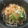 今庄そば - 料理写真:かけそば 300円 (2017.9)