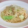 ピッキオ - 料理写真:ホタテとキャベツのスパゲティ