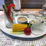 72491357 - 庄内産野菜の本日のバーニャカウダ