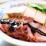 威南記海南鶏飯 - BBQ & ローストポークヌードル@1,800円+税