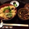 万るやま - 料理写真:2017.8.10  ハモ天丼セット