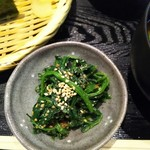 Ohitsuzentambo - ほうれん草ごま和え