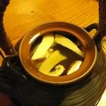 小割烹料理こっぽう - 松茸土瓶蒸し内部