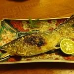 小割烹料理こっぽう - 子持ち鮎塩焼き