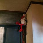 ラ シゴーニュ - 鳥のぬいぐるみは本日休憩中