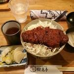 72501460 - 名古屋名物味噌カツ丼(味噌汁・漬物付き)