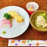 割烹旅館 天下茶屋 - 料理写真:あまりに質素な朝食にびっくりでございます