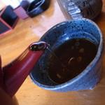 みのり寿司 - うどん湯