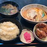 だいきうどん - 料理写真:スペシャル定食820円