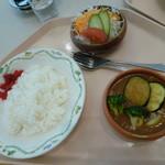 レストランカフェ・地球こうさてん - マッサマンカレー 650円
