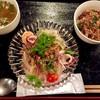浜松町パクチー - 料理写真:美人なヤムウンセン。ミニガパオライス付