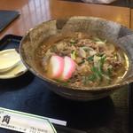 一角寿司 - 料理写真:2017年9月上旬 肉うどん ¥ 560 (税別)