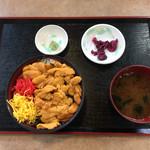 Michinoekimaidurukoutoretoresenta - ウニ丼