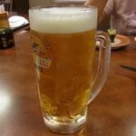 すし官太 - ドリンク写真:生ビール