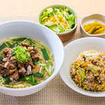 台湾料理 台北  - 料理写真:Aセット