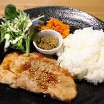 ギャニオン エラブル エ カフェ - 料理写真:メープルしょうが焼き 6月限定
