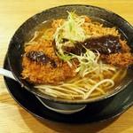 高知ジェントル麺喰楽部 - かつラーメン